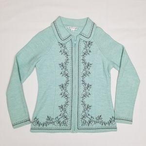 Pendleton zip up sweater.